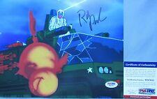 CLASSIC GI JOE!!! Rob Paulsen SNOW JOB Signed 8x10 Photo #12 PSA/DNA