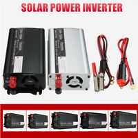 US DC 12V to AC 110V Solar Power Inverter Converter USB Battery Charger