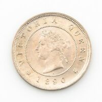 1890 H Jamaica 1 Farthing Queen Victoria Coin Unc.