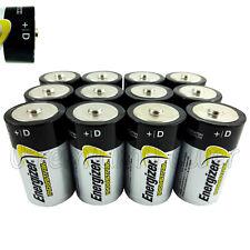 12 x Energizer D size batteries 1.5V Industrial LR20 MN1300 MONO EN95
