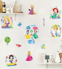 PRINCESS LITTLE MERMAID CINDERELLA WALL STICKER DECAL  NURSERY/KIDS/GIRLS ROOM