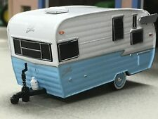 1/64 GREENLIGHT BABY BLUE SHASTA CAMPING TRAILER