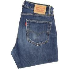 Levi's 751 Men Blue Straight Regular Jeans W33 L32 (51193)