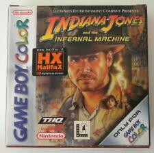 INDIANA JONES AND THE INFERNAL MACHINE NINTENDO GAME BOY COLOR NUOVO
