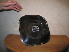 COUZON JEAN *NEW* Set  2 Assiettes d'accueil inox City 29x29cm Plate