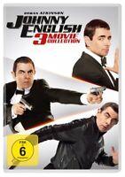 JOHNNY ENGLISH 3-MOVIE COLLECTION - ATKINSON,ROWAN  3 DVD NEUF