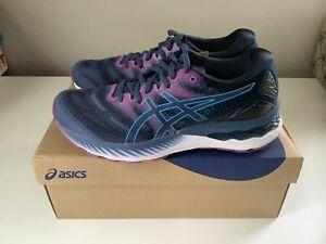 NEW Asics Gel-Nimbus 23 Women's Running Shoes - Blue/Purple - Sz 7