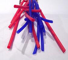 Tubo de goma de silicona 2mm ID x 4mm OD x 1mtr Azul o Rojo Tubería Nuevo Y En Caja