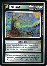 STAR TREK CCG RULES OF ACQUISITION RARE CARD STARRY NIGHT