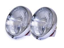 Brand New Pair of Fogranger Lamp Assy for Jaguar MK2 and Daimler V8 Cars