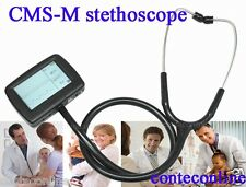 FDA CMS-M CONTEC  Multi-function electronic stethoscope+ ECG + spo2 probe