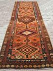 "Antique Turkish Carpet Runner, Aisle Runner 45""X125"" Hallway Rugs, Corridor Rug"