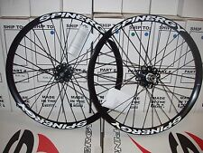 New Spinergy Fall Line White or Black PBO Spokes Wheel Set 20x135mm Down Hill