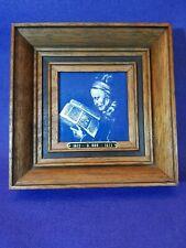Tableau miniature CARRELAGE DELF BLUE Code DEL700