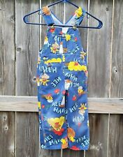Vintage 70's Hee Haw Liberty Childrens Blue Overalls Size 3