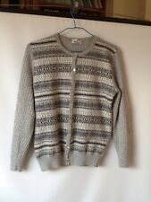 Chaqueta.   Vintage.   Version .tricot Talla M.  Angorina