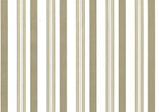 Taupe Brown Stripes Lines Vinyl Contact Paper Shelf Drawer Liner Peel Stick