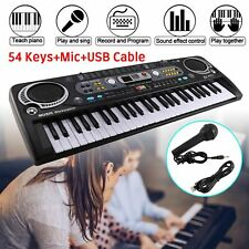 Musical Keyboard Piano 54/61keys Electronic Electric Digital Beginner Adult Gift