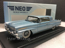 NEO 1/43 LINCOLN CONTINENTAL MK III HARD-TOP COUPÈ 1958 BLUE ART.NEO46001