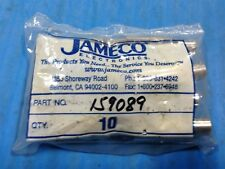 LOT OF 10 NEW JAMECO 159089 ADAPTER KEBOARD 6-PIN F MINI DIN TO 5-PIN M DIN (A5)