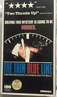 The Thin Blue Line 1988 Rare VHS Errol Morris Documentary OOP HTF Murder Case LN