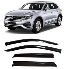 For VW Touareg III 5d 2018- Side Window Visors Sun Rain Guard Vent Deflectors