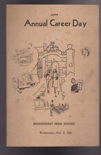Irondequoit High School NY Sixth Annual Career Day Booklet 1955