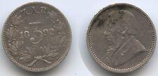 G9514 - Südafrika 3 Pence 1892 KM#3 Silber ZAR Paul Kruger South Africa