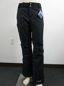 Womens XS Columbia Arctic Trip Insulated Waterproof Ski Snow Winter Pants Black