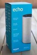 Amazon Echo (2nd Generation) - Smart speaker with Alexa - Sandstone Fabric