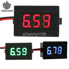 12V Digital Thermometer Temperature Monitoring tester Temp Probe LED -50~100C