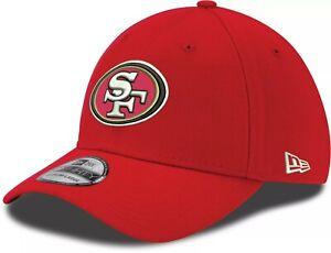 San Francisco 49ers Hat New Era 39THIRTY Red Flex Fit M/L Cap NFL Football SF
