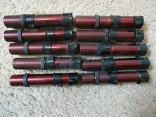 10 Rod Building Wrapping Vintage Burgundy/Black Aluminum reel seats Lakeland?