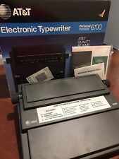 NEW & UNUSED VINTAGE AT&T ELECTRONIC TYPEWRITER PERSONAL PORTABLE 6100