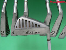 Vintage Action Golf Club Set 2-PW missing 3,7 irons Steel Shaft Mens Right Hand