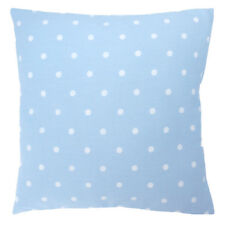 Clarke and Clarke Dotty Powder Blue Spot Set Of Two 16 x 16 inch Cushion covers