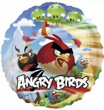 "Angry Birds 17"" Round Foil Balloon - For Helium Or Air"