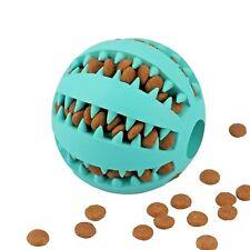 Teeth Cleaning Dog Toy IQ Training Ball Treat/ Food Dispenser Dog Ball Non-Toxic