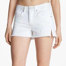 *NEW* Marc Jacobs $158 Wicken White Cheetah Print Mini Denim Shorts. 29 NWT
