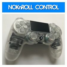 Custom Modded PS4 Controller transparent clear Mod Playstation 4 Controller(64