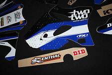 YAMAHA YZ 125-250 2002-2004 TWO TWO FX MX GRAPHICS KIT STICKER KIT STICKERS