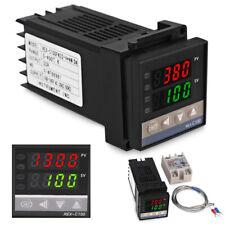 Digital PID REX-C100 Temperature Controller & max.40A SSR & K Thermocouple 1M UK