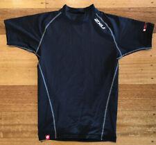 2XU Men's Short Sleeve Compression Top Black - XS