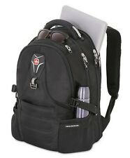 "Swiss Gear 17"" Laptop Backpack ScanSmart Padded Compartment TSA Approved Black"