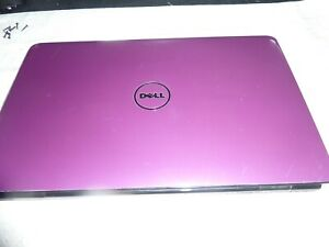 PURPLE Dell Inspiron 1545 Win10, Intel D Core T4400 2.2ghz 3gb RAM 500gb HD
