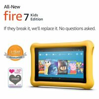 Amazon Fire 7 Kids Edition Tablet 16GB , 7 Inch Display Quad-core,Fire OS, Wi-Fi