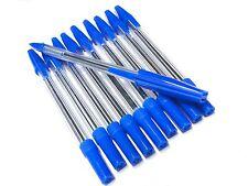 Blue Ball Point Pens Ballpoint Pens Contract Blue Biros Cheap Ball Pens x 50