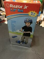 Razor Junior Lil' Tek Scooter Light Up Deck Tilt to Turn New in Box