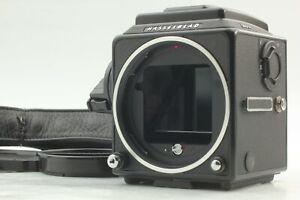 [MINT w/Strap] Hasselblad 503CW Black + Acute Matte D + Waist Finder From JAPAN