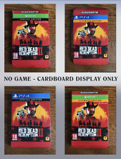 EMPTY BOX NO GAME PS4 XBOX Red Dead Redemption 2 Ultimate Special Display PICK
